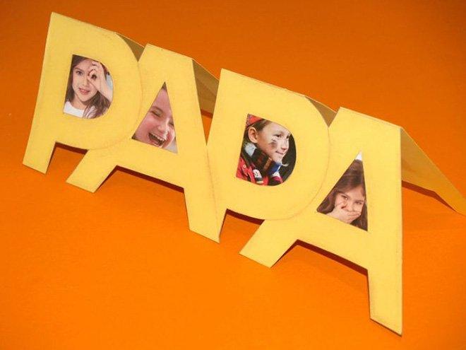 manualidad-dia-del-padre-marco-fotos-papel