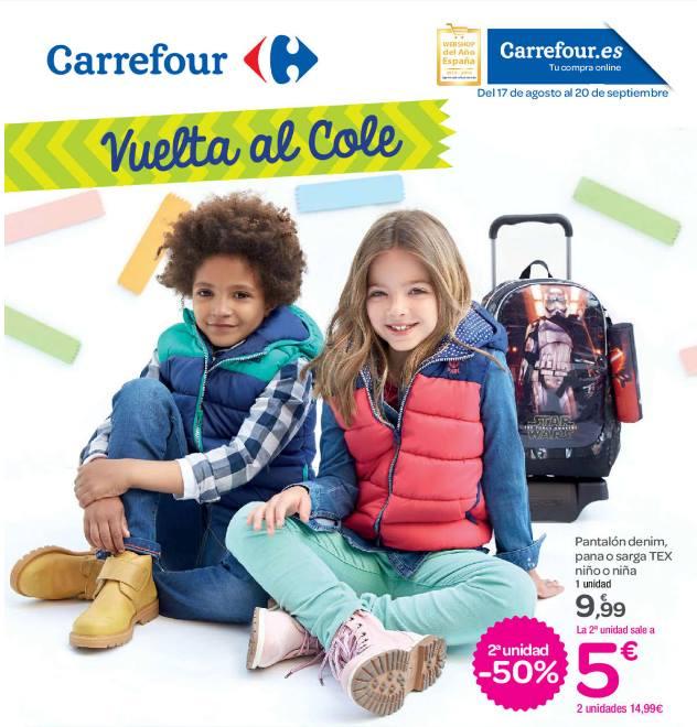 Carrefour vuelta al cole